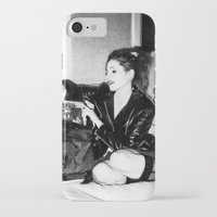 punk rock iPhone & iPod Cases featuring Punk Rock Girl by Penny Giforos