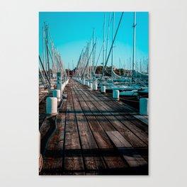 Sunset at Langedrag, Gothenburg Canvas Print