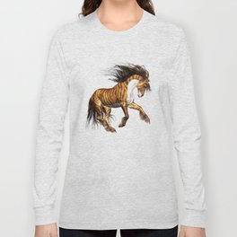Mystical Horse .. fantasy Long Sleeve T-shirt