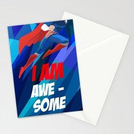 I Am Awesome Stationery Cards