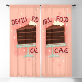 Devil's Food Cake An All American Classic Dessert Blackout Curtain