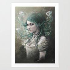 Victoria Van Violence Art Print