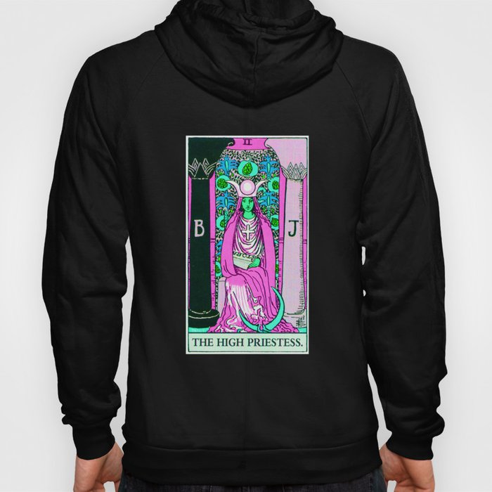 2. The High Priestess- Neon Dreams Tarot Hoody