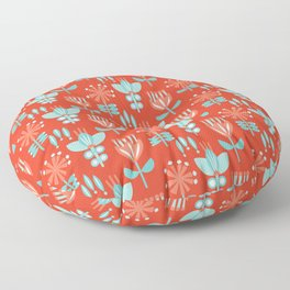 Whirlygig Floral Floor Pillow