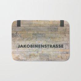 Nuremberg U-Bahn Memories - Jakobinenstrasse Bath Mat