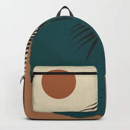 Fun Side of Life Abstract Art Backpack