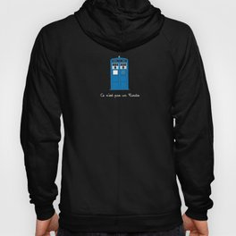 This Is Not A Tardis Hoody