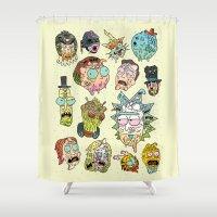Sick & Gorety Shower Curtain