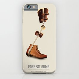 Forrest Gump - Alternative Movie Poster iPhone Case
