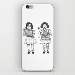 Fate and Chance iPhone Skin
