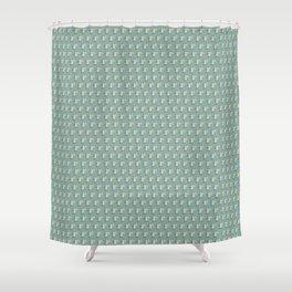 Rabbit on drums Shower Curtain