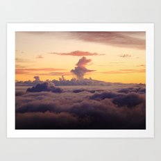 HALEAKALA'S CLOUDS Art Print