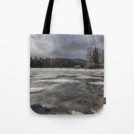 Fish Lake in Transition Tote Bag