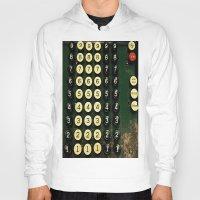 numbers Hoodies featuring Numbers by Hazel Bellhop