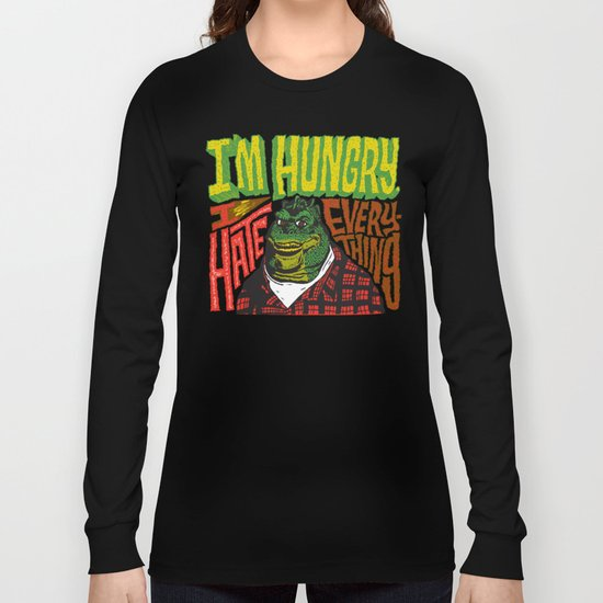 Hungry Earl Long Sleeve T-shirt