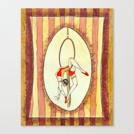 C is for Circus Canvas Print