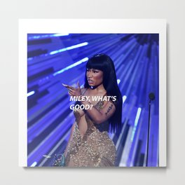 NOT YOUR CAREER Metal Print