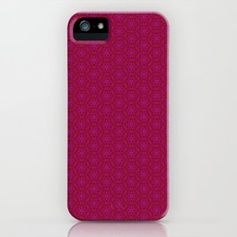 Red & Purple XIV iPhone Case