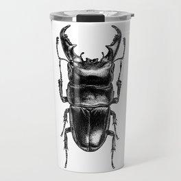 Lucanus Beetle Travel Mug