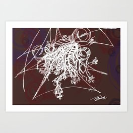 Intricate  Art Print