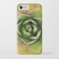 montana iPhone & iPod Cases featuring Agave Montana by Awispa