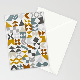 Mid West Geometric 05 Stationery Cards