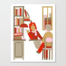 N as Notary Canvas Print