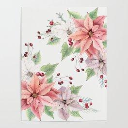 Poinsettia 2 Poster