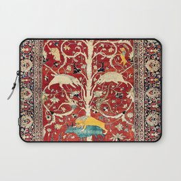 Silk Heriz Azerbaijan Northwest Persian Rug Print Laptop Sleeve