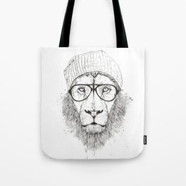Tote Bag - Lion Tote by VIDA VIDA NO2MctLpyr