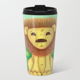The Little Lion Metal Travel Mug