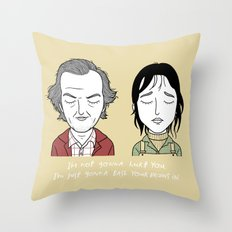 W & J Throw Pillow