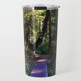 Trail to the beach, Tofino BC Travel Mug
