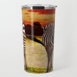 The Zebras Travel Mug