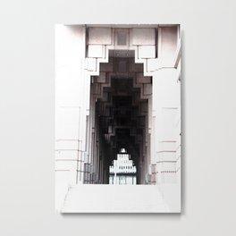 *Title of artwork: Metal Print
