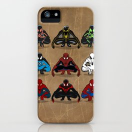 Spider-man - The Year of the Costumes iPhone Case