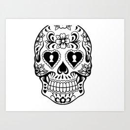 Sugar Skull Art, Sugar Skulls Art Print