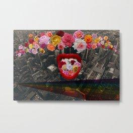 Flower  Vomit Metal Print