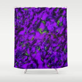 Fluttering purple Shower Curtain