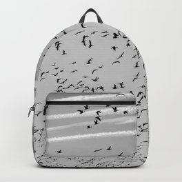 The Birds (Black and White) Backpack