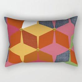 KALEIDOSCOPE 03 #HARLEQUIN Rectangular Pillow