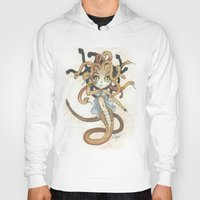 magic the gathering Hoodies featuring Snake Token - Magic the Gathering - Pharika by Deadlance