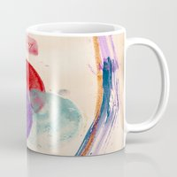 coldplay Mugs featuring Painting & Coldplay by Hector Pahaut