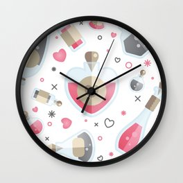 Brew Me A Love Potion Wall Clock