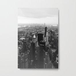 New York City Citiscape Metal Print