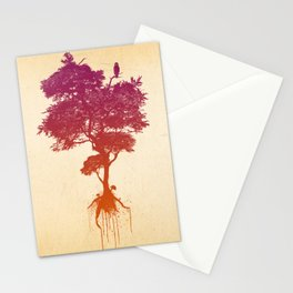 Splatter Tree Stationery Cards