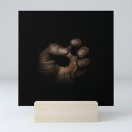 Working Man's Hand Mini Art Print
