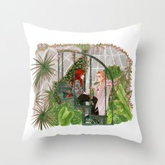 The Mortal Instruments Throw Pillow