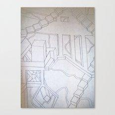 Optical Illusion Canvas Print