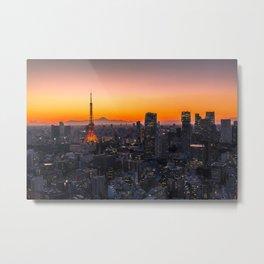 TOKYO 01 Metal Print